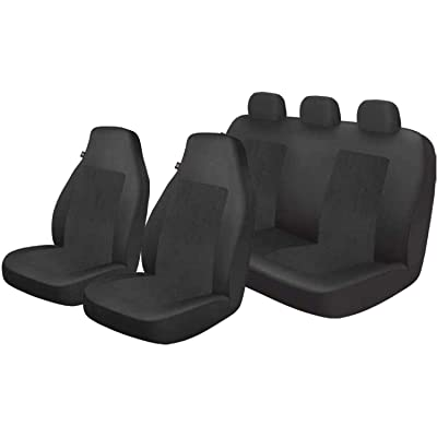 Dickies 3003453LD Black, 3-Piece Seat Cover: Automotive