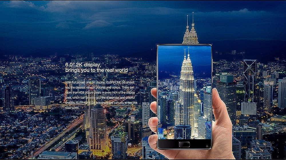 Elephone S8-4G Smartphone Libre 6.0 Pulgadas Android 7.1.1 Deca ...