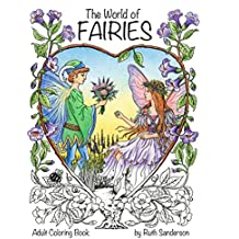 The World of Fairies: A Coloring Book for Adults
