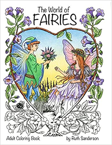 Amazon.com: The World of Fairies: A Coloring Book for Adults ...
