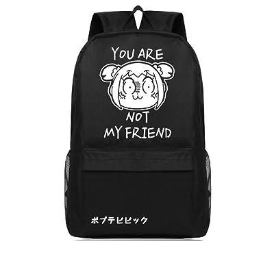 60%OFF Popuko Cosplay Pattern School Bag Notebook Backpacks