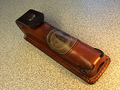 Genuine leather e-cigarette vape case for Mech Mod   Free shipping