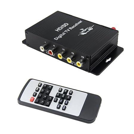 Review QSICISL Car Digital TV