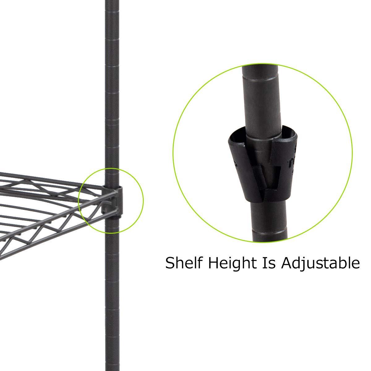 Amazon.com: Tangkula - Perchero de metal portátil para el ...