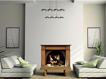 Cheminee Incroyable Avec Le Calque De Decoration D Interieur De Mur