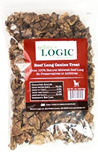 Nature's Logic Beef Lung Canine Treat, 1lb
