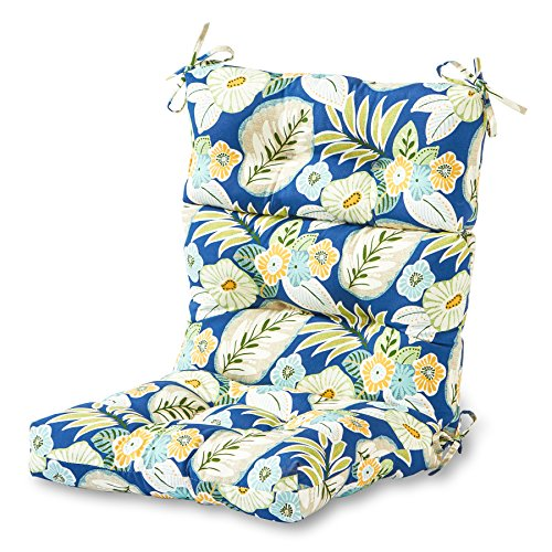 (Greendale Home Fashions Indoor/Outdoor High Back Chair Cushion, Marlow)