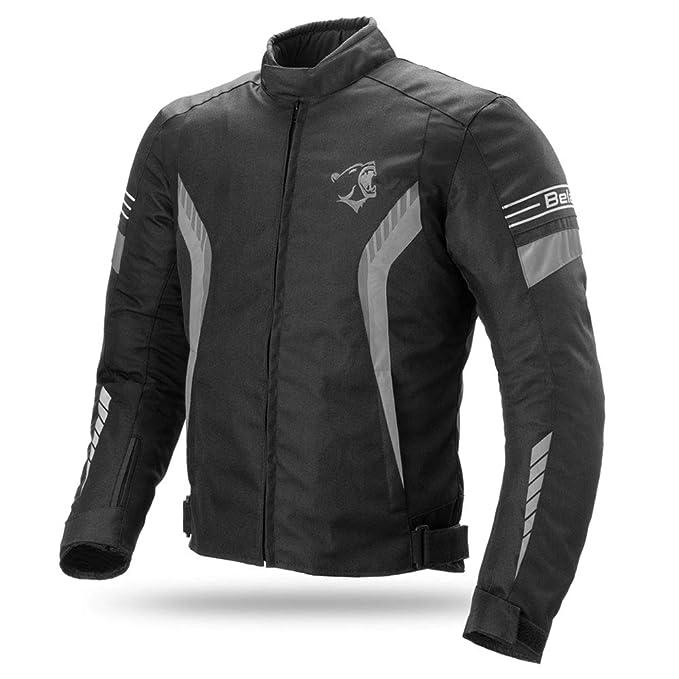 3beb19eeb6a Bela Chaqueta Textil para Moto Bradley CE Aprobado Chaqueta de Moto   Amazon.es  Ropa y accesorios