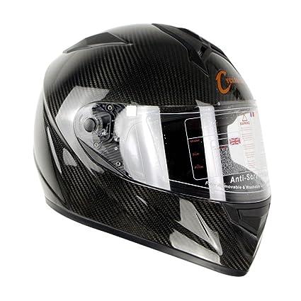 GTYW Casco De Motocicleta Casco De Alta Calidad De Fibra De Carbono Casco Completo De Equitación