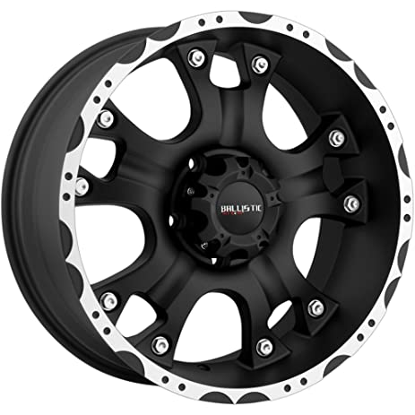 Amazon Ballistic 440 Hostel 440x44040 Flat Black Machined Wheel Magnificent 5x5 5 Bolt Pattern