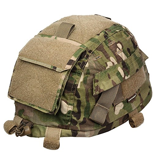 Outdoor Military Tactical Helmet Accessories Gen2 Upgrade Helmet Cover for MICH 2002 Camouflage (Emerson Gen2 Combat compare prices)