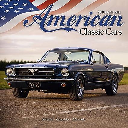 Calendario 2018 coches Americaine - Coche de colección ...