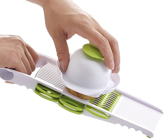 Bsterlf Kitchen Vegetable Slicer Mandoline Slicer Grater Set Kitchen Dining Amazon Com
