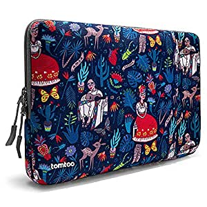 tomtoc 360° Protective Laptop Sleeve Compatible with 12 Inch MacBook Retina Display A1534 Notebook, Shockproof, Spill-Resistant, Accessory Pocket