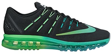 new styles 58756 13e6c Image Unavailable. Image not available for. Color  Nike Men s Air Max 2016  Running Shoe (Sz. 12) Black, Midnight Turquoise