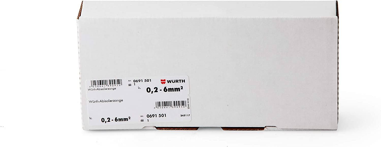 6/mm2/ W/ürth Pince /à d/énuder professionnelle as61/0,2 /selbste instell endes Outil pour couper et d/énuder de c/âbles