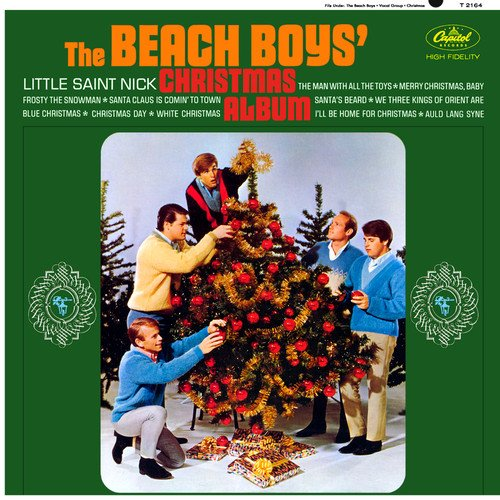 beach boys beach boys christmas album amazoncom music - Beach Boys Christmas