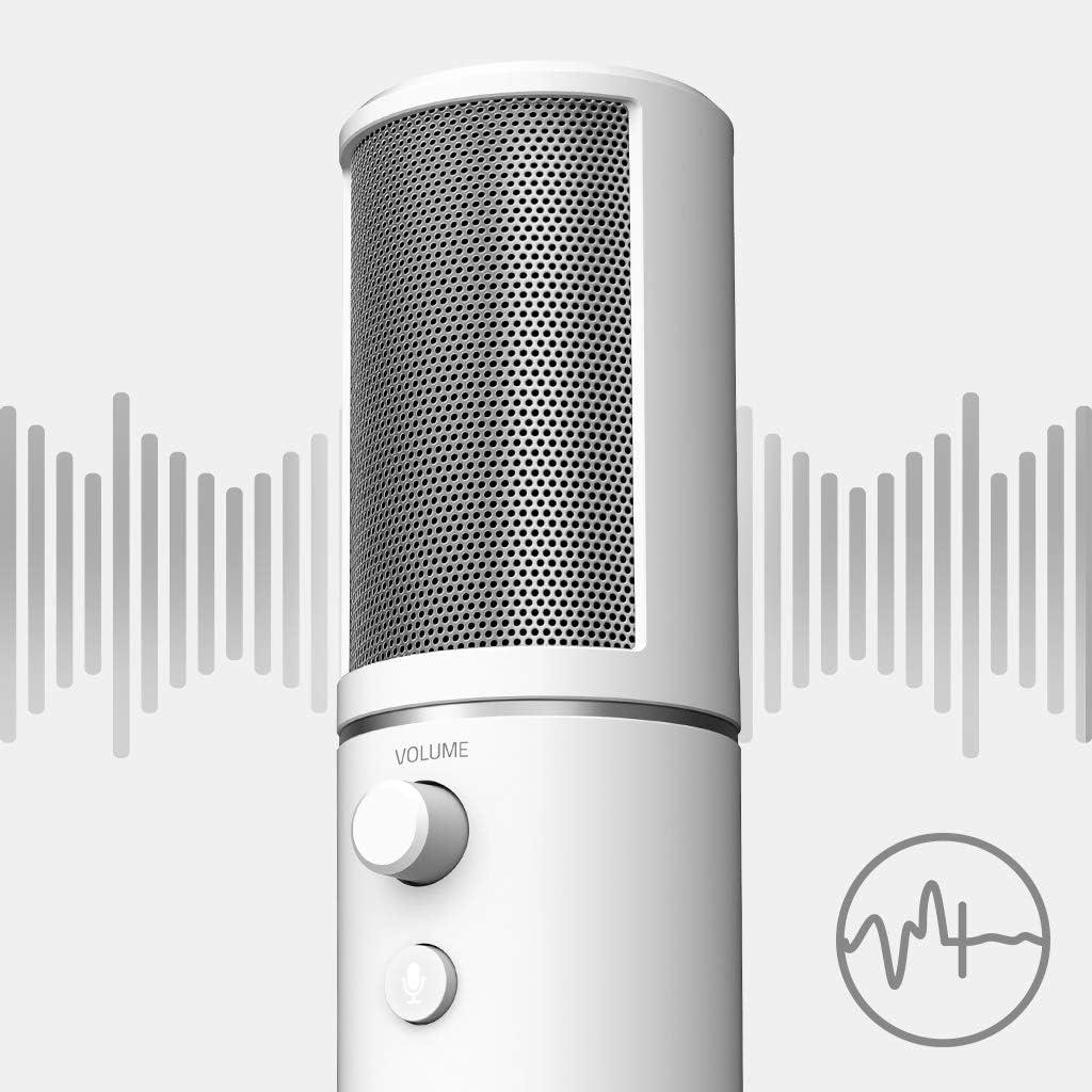 Razer Seiren X Mercury Usb Kondensator Mikrofon Für Computer Zubehör