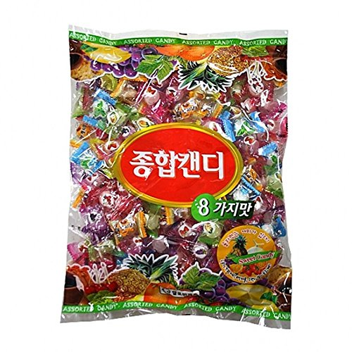 Assorted Candy 800G 종합캔디 by Ssalloman