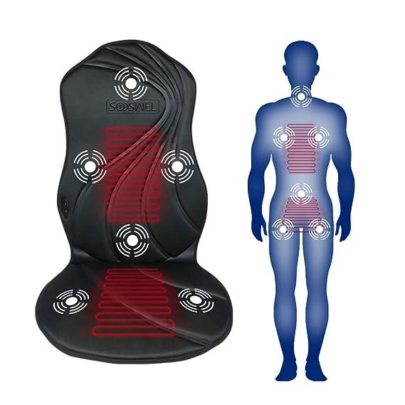 Amazon.com: Sooswel - Cojín de masaje con vibración para ...