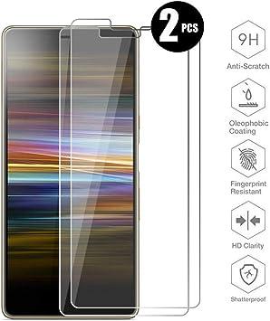 HYMY 2 Pack Protector de Pantalla para Sony Xperia L3 (5.7 ...