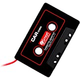 FORE Vintage-IC800 Car Cassette Mp3 Adapter Player Color Black