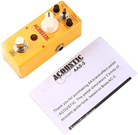 Contifan Aroma AAS-5 - Pedal de Efecto simulador de Guitarra ...