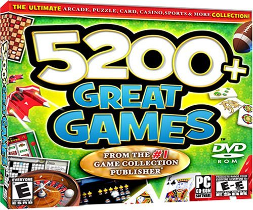 5200+ Great Games - PC by ValuSoft
