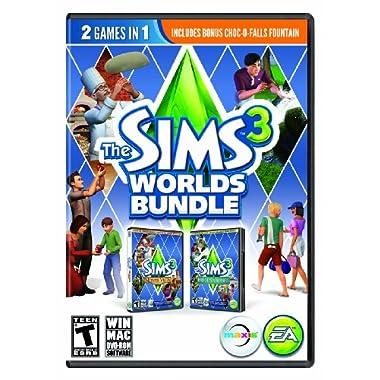 The Sims 3 Worlds Bundle - PC/Mac
