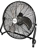 Kool-it Max Performance 20'' Super High Velocity 3 Speed Large Industrial Floor Fan Black - No Assembly Required Flagship Model