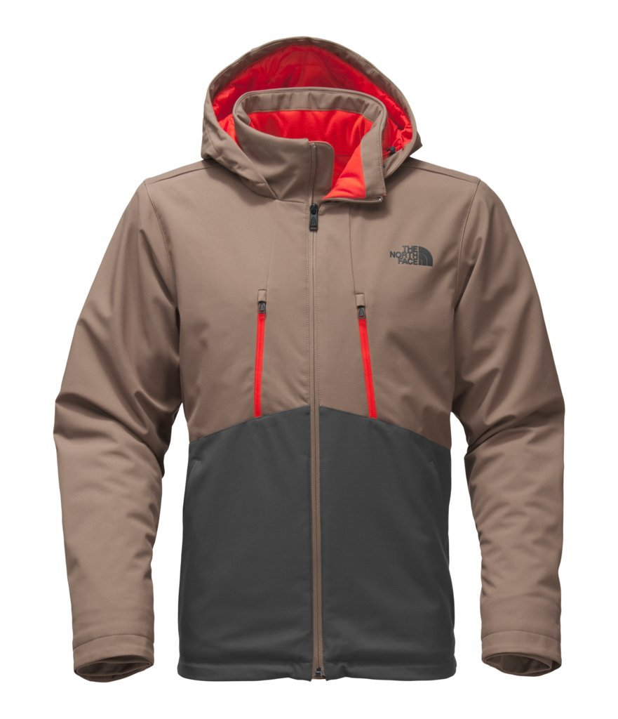 The North Face Men's Apex Elevation Jacket - Falcon Brown/Asphalt Grey - L (Past Season)
