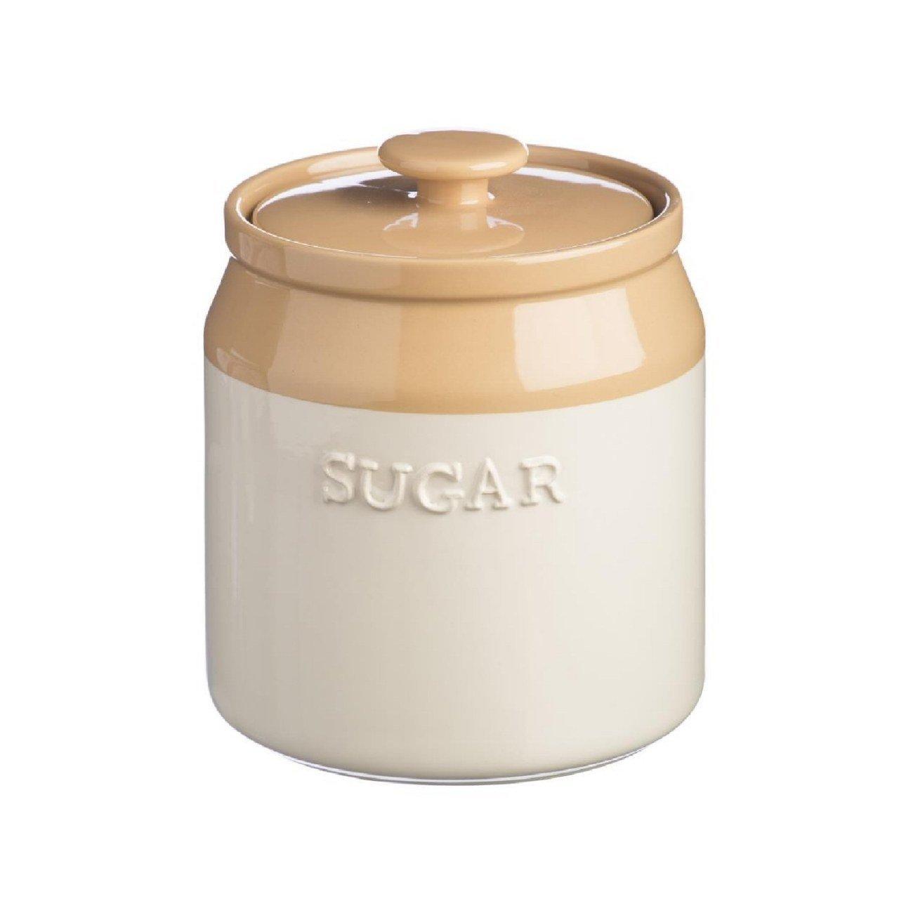 Mason Cash Cane Stoneware Sugar Jar, 1-1/4-Quarts