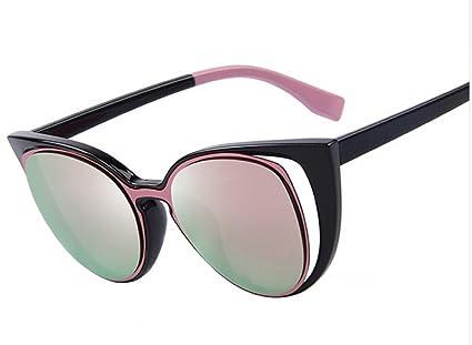 184ae9248c9fe Amazon.com   MERRY S Fashion Cat Eye Sunglasses Women Brand Designer Retro  Pierced Female Sun Glasses oculos de sol feminino UV400-Pink   Everything  Else
