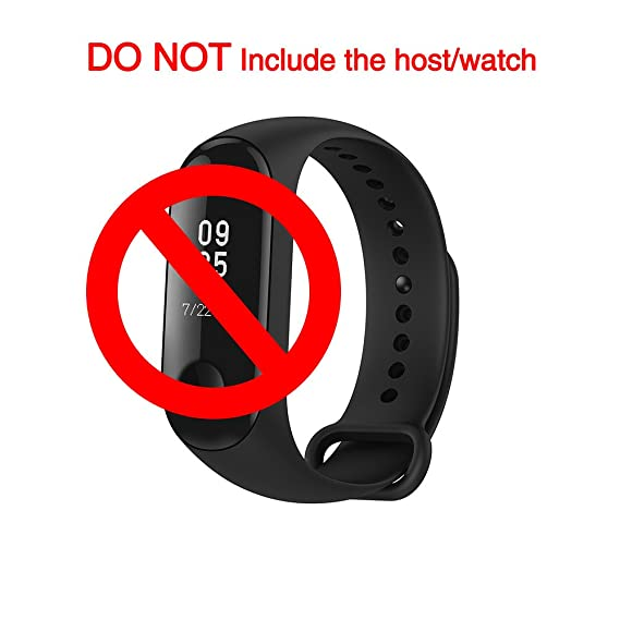 Amazon.com: Original Xiaomi Mi Band 3 Straps Wrist Strap Belt ...