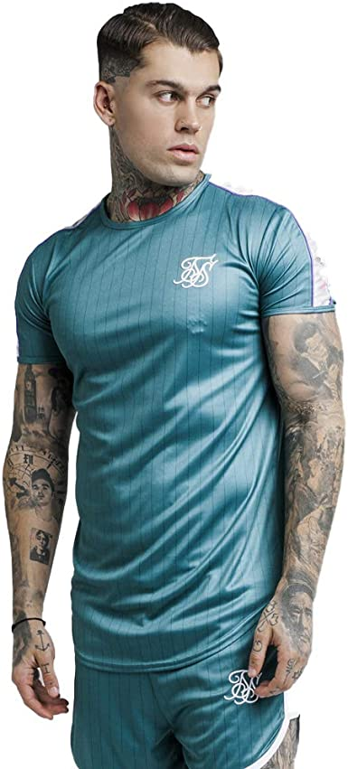 Siksilk - Camiseta Siksilk Tape Trials Gym tee - SS 14277 ...