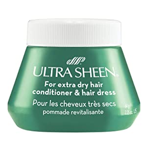 Ultra Sheen Conditioner & Hair Dress, For Extra Dry Hair 2.25 oz (Pack of 4)