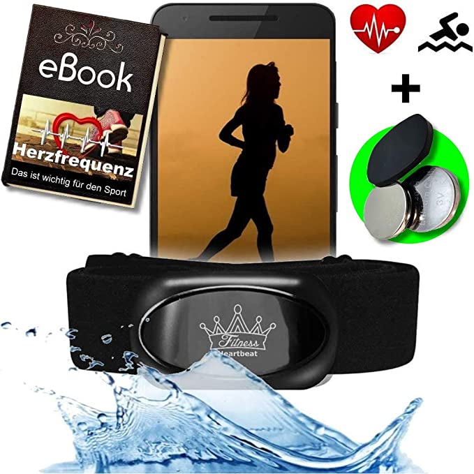 Fitness Prince© Heartbeat 2 Bluetooth 4.0 Heart Rate Monitor y Ant ...