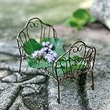 Miniature Fairy Garden Day Bed