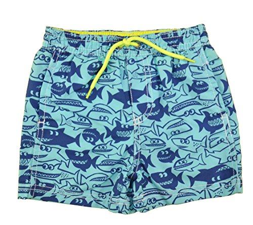 Carter's. Baby Boys' Blue Shark Print Swim Short (18 Months) ()
