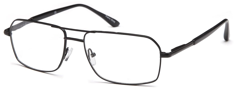 DALIX Vintage Squared Glasses Frames Prescription Eyeglasses 57-17-150