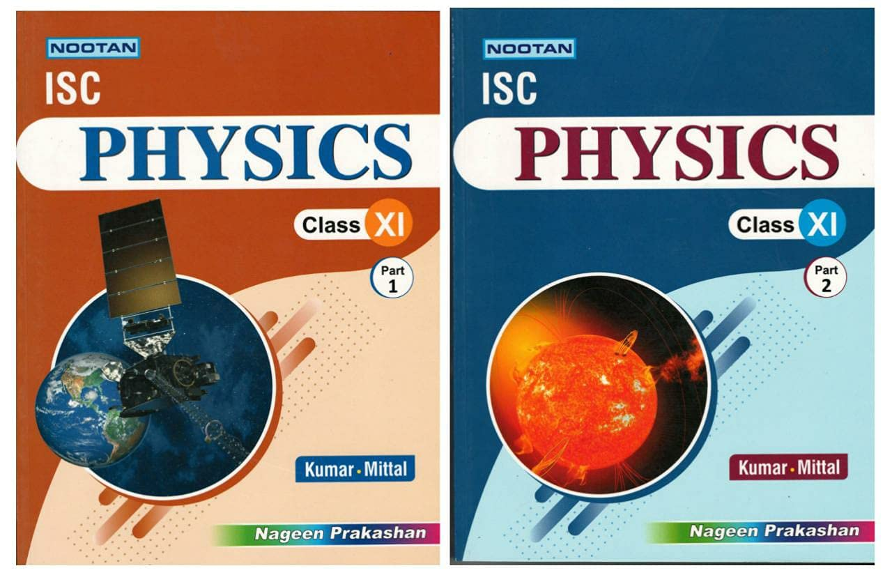 Nootan ISC Physics Part 1 and Part 2 ) Class 11th Paperback – 1 January 2021