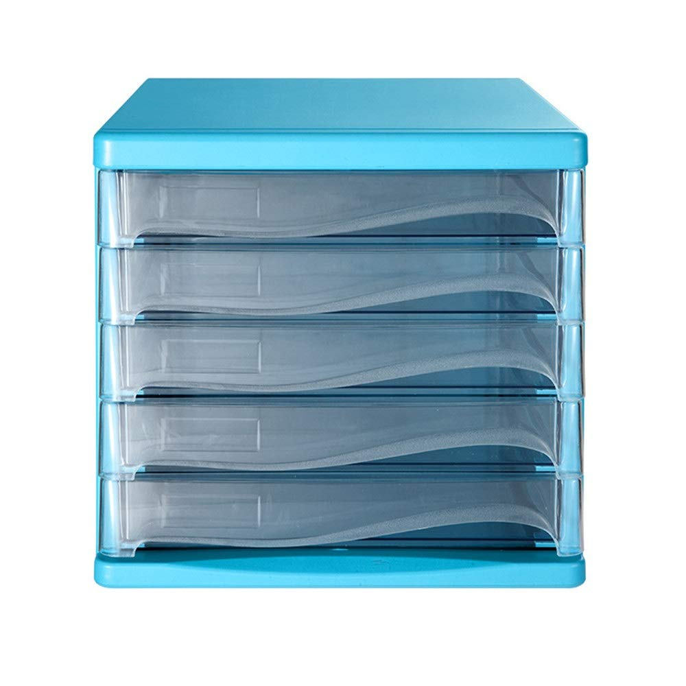 File Cabinet Drawer Cabinet Desk Organizer - Filing & Organizing Paper Documents, Tools, Kids Craft Supplies - Home Office Desktop File Storage Box for Home Office by Opbsite