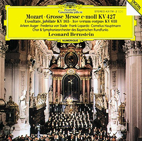 (Mozart: Great Mass in C minor, K. 427; Exultate, jubilate, K. 165; Ave verum corpus, K. 618)
