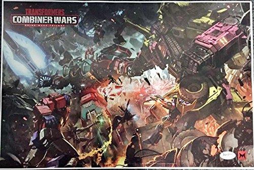 "TRANSFORMERS COMBINER WARS 18""x27"" Original Promo TV Poster SDCC 2016 Hasbro"