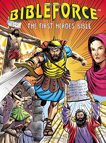 BibleForce: The First Heroes Bible {A Book Review}