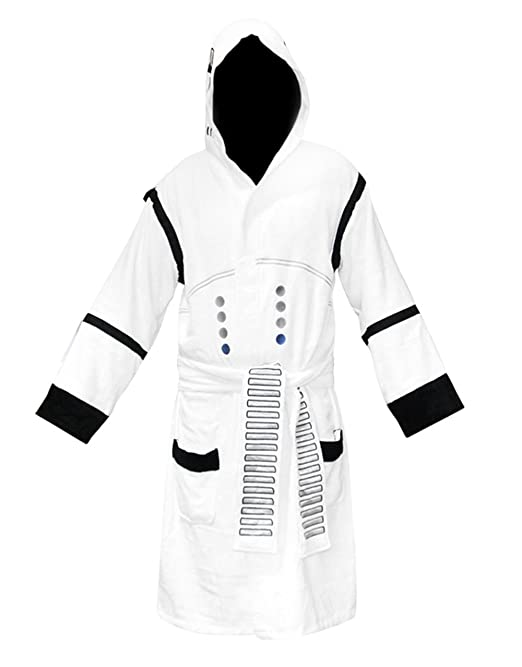Star Wars Bathrobe, Mens Stormtrooper Dressing Gown Bathrobe, Cotton ...