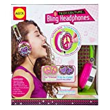 ALEX Toys - Do-it-Yourself Wear! Pink and Green Tech Couture Bling Headphones, 747H