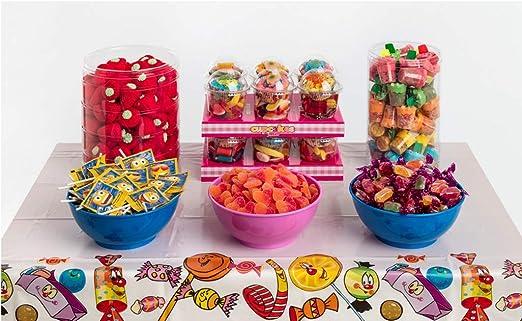 Candybar de Cumpleaños La Asturiana - Selección de 6 clases distintas de golosinas y chucherías para Mesas Dulces o Candybar, para celebrar fiestas de cumple u otros eventos y celebraciones: Amazon.es: Alimentación