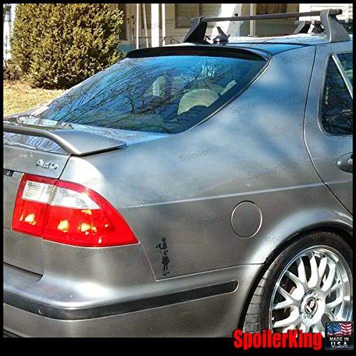 Saab 9-5 1999-2009 Rear Window Roof Spoiler (Saab Rear Spoiler)