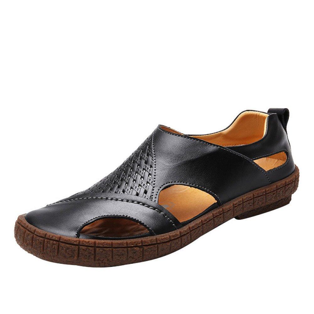 Sandalias Zapatos De Playa para Hombres Sandalias Al Aire Libre Zapatos para Hombres 41 EU|Black